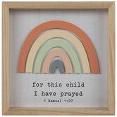 1 Samuel 1:27 Wood Decor