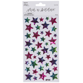 Stars Holographic Stickers