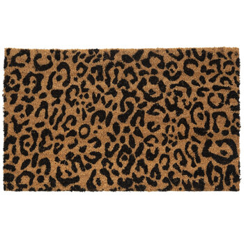 Cheetah Print Doormat