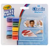 Crayola Classic Color Wonder Markers - 10 Piece Set