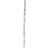 Faceted Round Amazonite Bead Strand