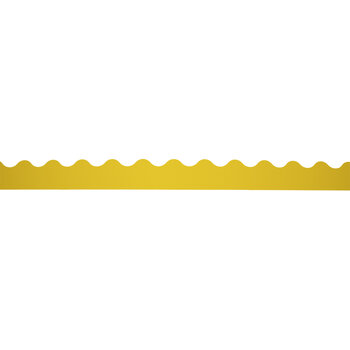 Yellow Scalloped Trimmer