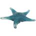 Blue Glass Starfish
