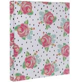 "Floral & Polka Dot Post Bound Scrapbook Album - 8 1/2"" x 11"""