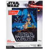 Star Wars Luke & Princess Leia Cross Stitch Kit