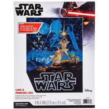 Star Wars Luke & Princess Leia Cross Stitch Kit