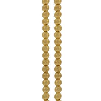 Round Metal Bead Strands