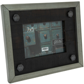 "Industrial Bolted Wood Frame - 7"" x 5"""