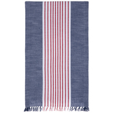 Red, White & Blue Striped Table Runner