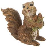 Squirrel Holding Corn