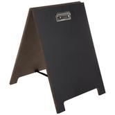 Wood Clip Chalkboard Easel