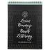Large Brush Bouncy Lettering Workbook