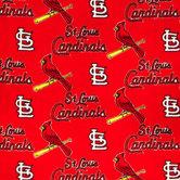 MLB St. Louis Cardinals Fleece Fabric