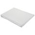 White & Gray Striped Tablecloth - 60