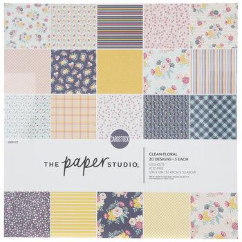 "Floral Cardstock Paper Pack - 12"" x 12"""