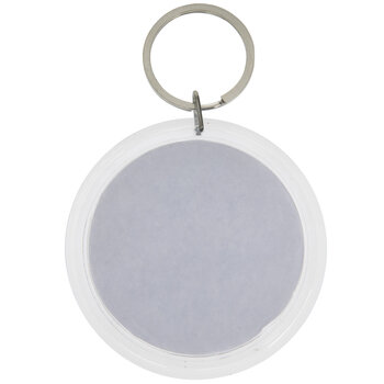 Damask keychain Gray Keychain Damask Keyring