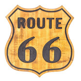 Route 66 Wood Wall Decor