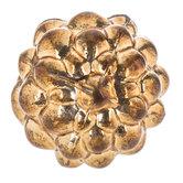 Gold Berry Glass Knob