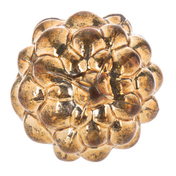 Gold Berry Glass Knob