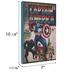 Captain America Comic Wood Wall Decor
