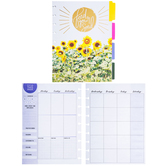 Happy Planner Undated Wellness Extension