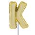 Letter Balloon Garden Pick - K