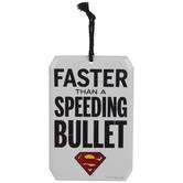 Superman Speeding Bullet Metal Sign