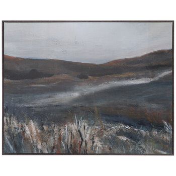 Muted Landscape Canvas Wall Decor