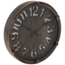Galvanized Metal Bolted Wall Clock