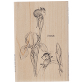 Iris Play Rubber Stamp