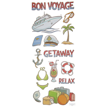 Cruise Ship Stickers