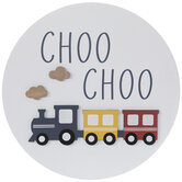 Choo Choo Train Wood Wall Decor