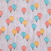 Hot Air Balloons Cotton Calico Fabric
