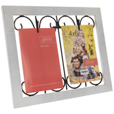 Whitewash Wood Collage Clip Frame