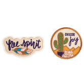 Free Spirit Iron-On Patches