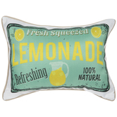 Fresh Squeezed Lemonade Pillow
