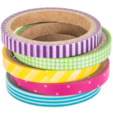 Bright Patterned Washi Tape