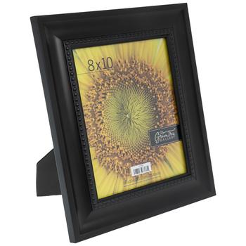 """Brown Beaded Wide Scoop Frame - 8"""" x 10"""""""