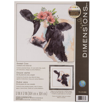 Sweet Cow Counted Cross Stitch Kit
