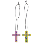 Cross Necklace Foam Craft Kit