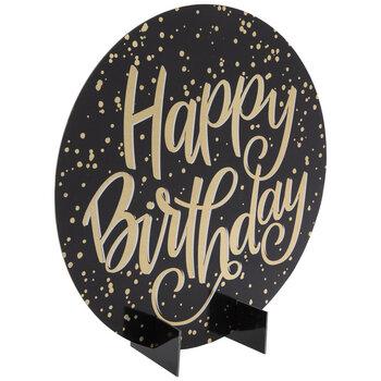 Gold Holographic Happy Birthday Decor