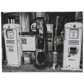 Route 66 Gas Station Canvas Wall Decor