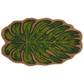 Monstera Leaf Doormat