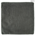 Dark Gray Piped Edge Pillow Cover