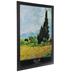 Black Matte Smooth Wood Wall Frame - 24