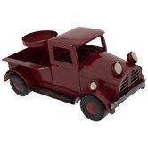 Red Truck Metal Candle Holder
