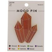 Crystal Cluster Mood Metal Pin