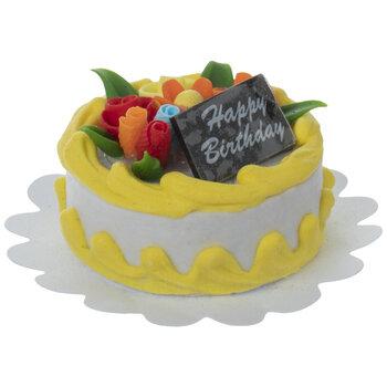 Miniature Happy Birthday Cake