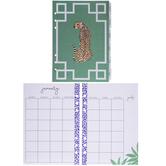 Cheetah Print Undated Planner Inserts - 12 Months