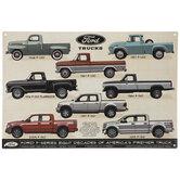 Ford F-Series Trucks Metal Sign